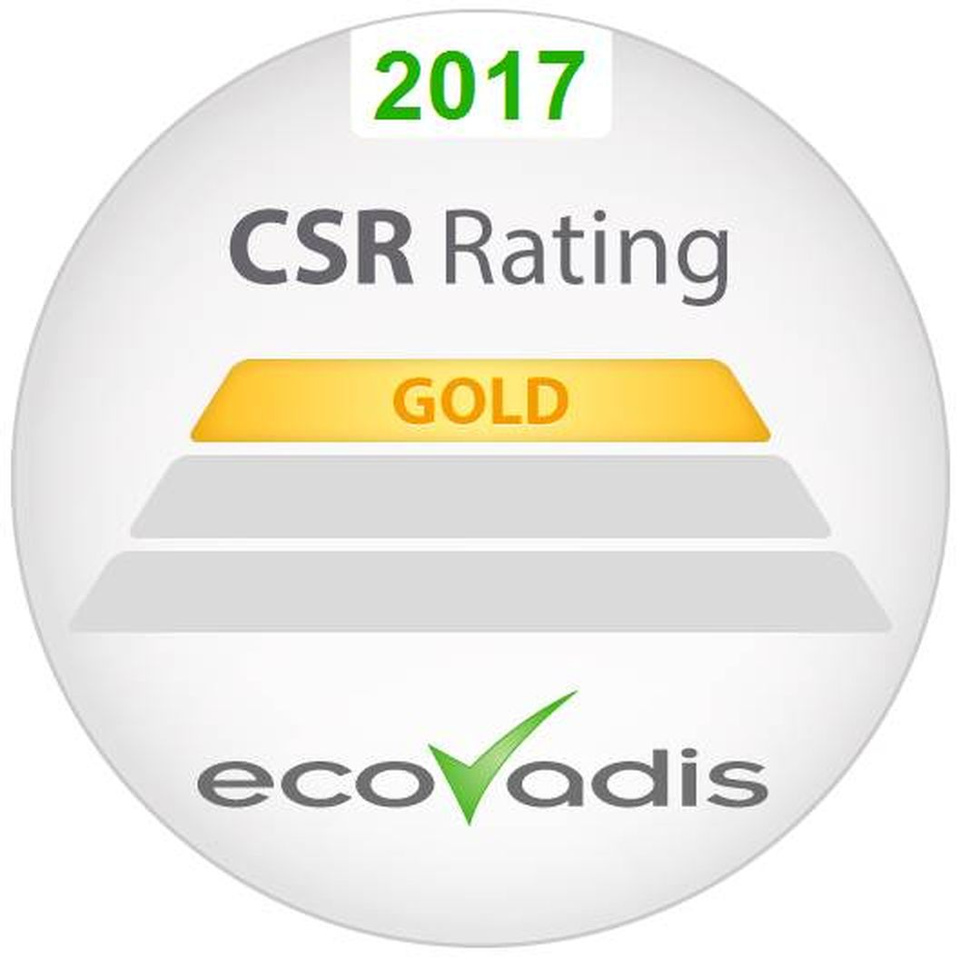 2017 CSR Rating Gold