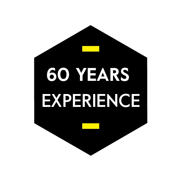 60 years experience