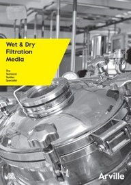 Wet and Dry Filtration Media - Technical Literature