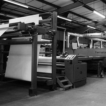 weave finishing machine