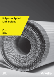 Polyester Spiral Link Belting Technical Literature