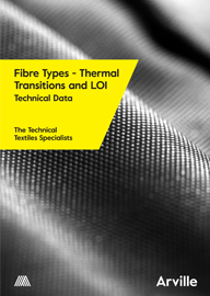 Fibre Types - Thermal Transitions and LOI Technical Data