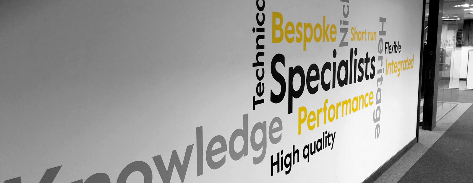 Why Us? The technical textiles specialists